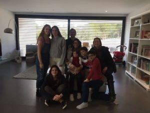 Mairi Murphy Native English Experiences en Barajas con familia de acogida