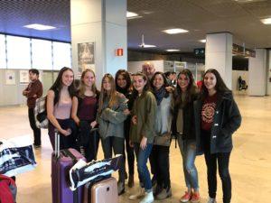 Llegada a Madrid