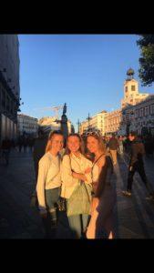 una tarde soleada en Madrid